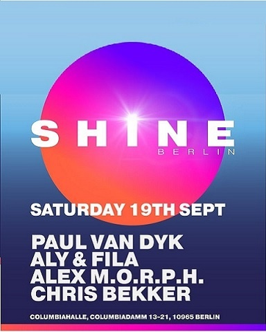 SHINE Berlin w/ Paul van Dyk