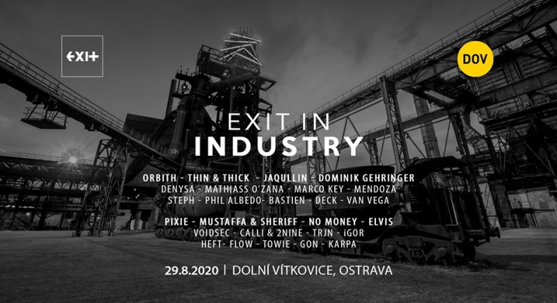 EXIT In Industry [Open Air ] → Dolní Vítkovice